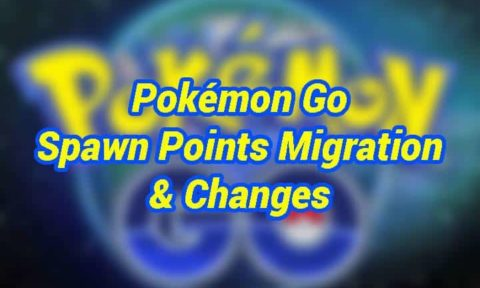 POKEMON GO SPAWN POINTS CHANGED AGAIN