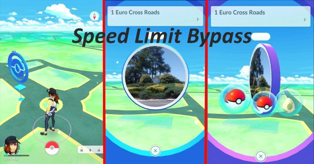 Pokemon Go PokeStop speed limit