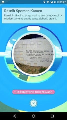 Multiple PokeStops updated with new photos taken by Ingress players! 2