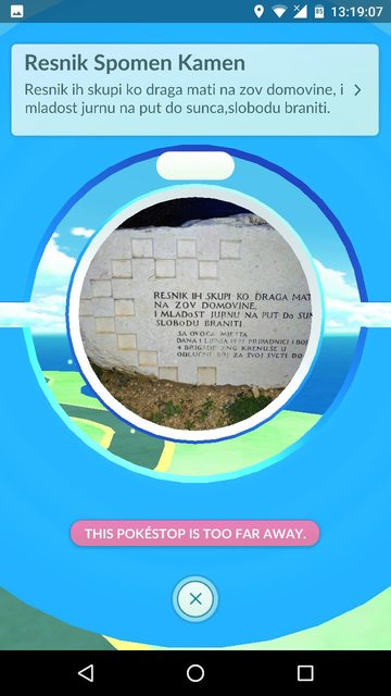 Multiple PokeStops updated with new photos taken by Ingress players! 1