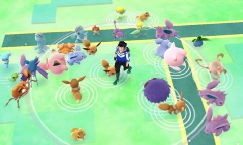 Pokemon GO Rural Spawn