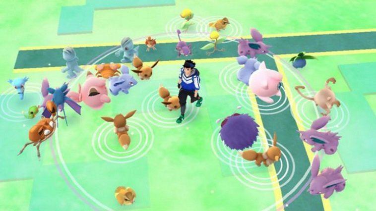 Pokemon GO Rural Spawn