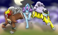 The Legendary Johto Beasts