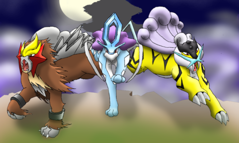 The Legendary Johto Beasts