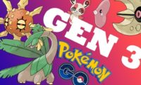 Pokemon Go Generation 3 Regionals