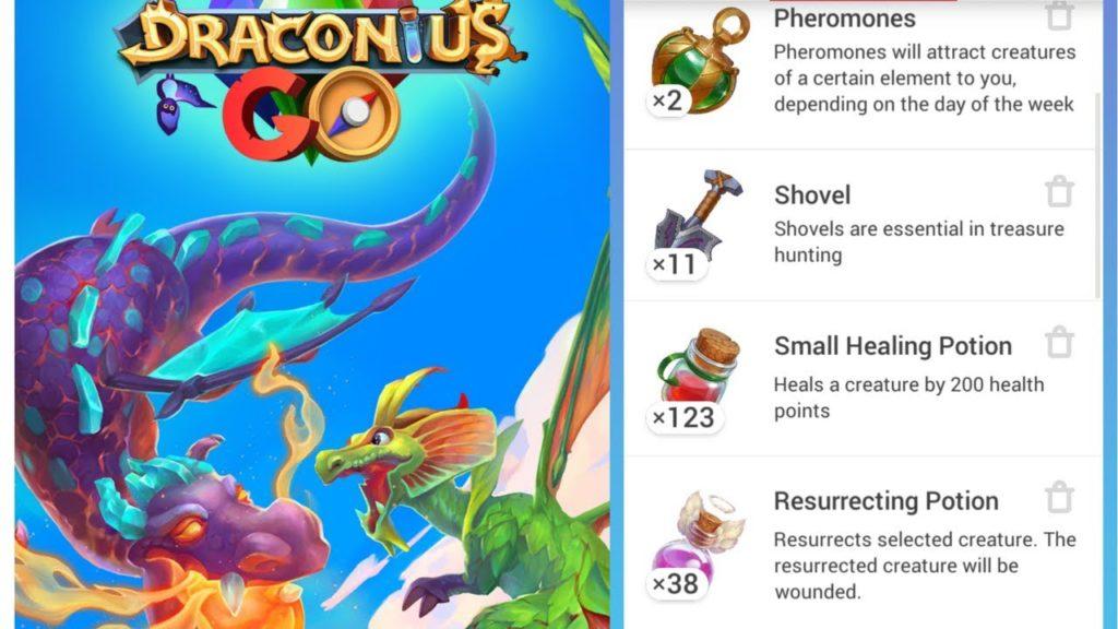 Draconius Go Pheromones Items Potions