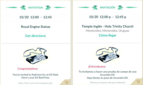 Fourth Wave Of Ex Raid live in Pokemon Go
