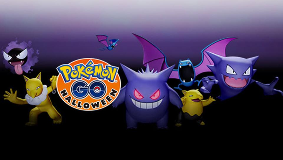 Pokémon GO' Hints At New Pokémon For Upcoming Halloween Event