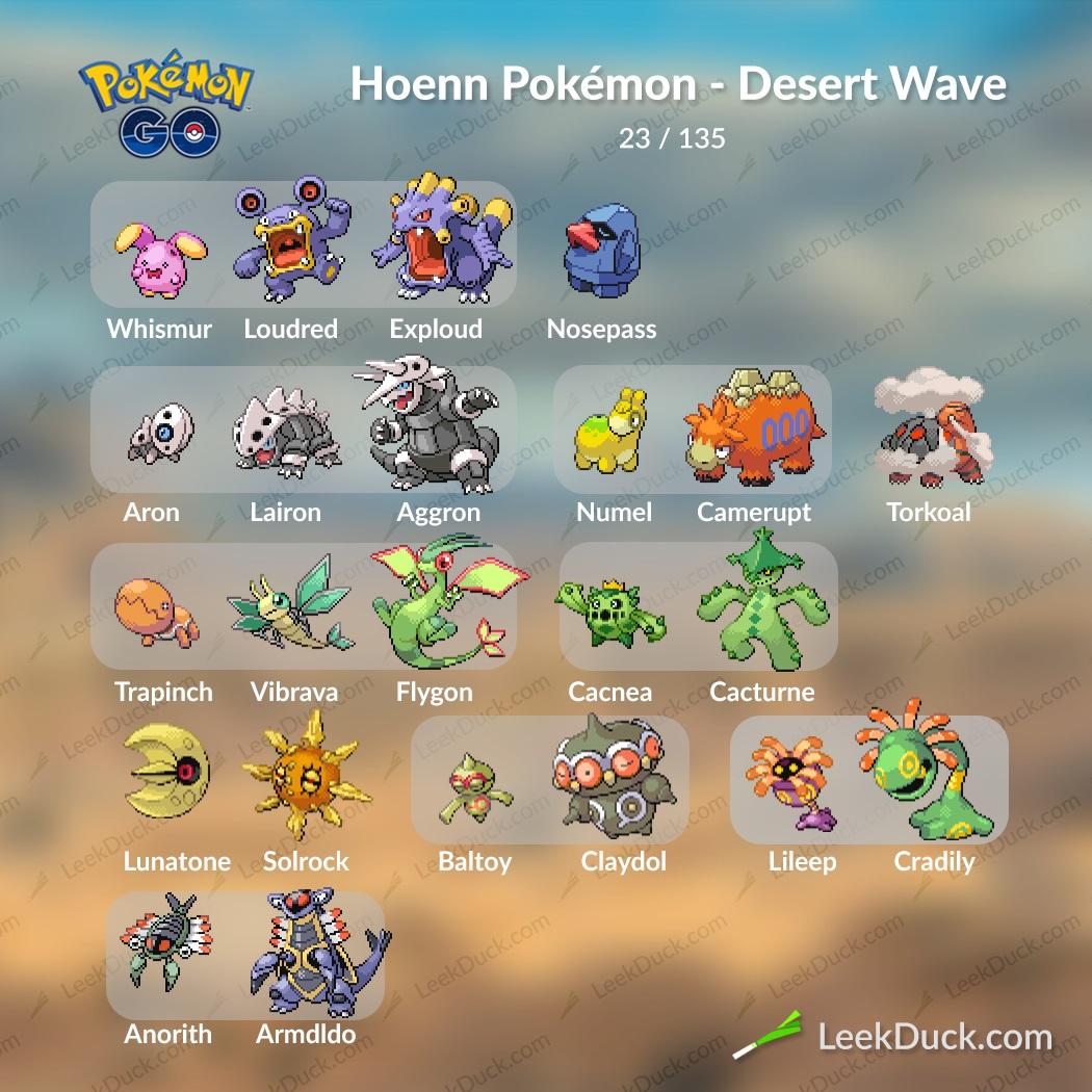 Gen 3 Pokemon Wave