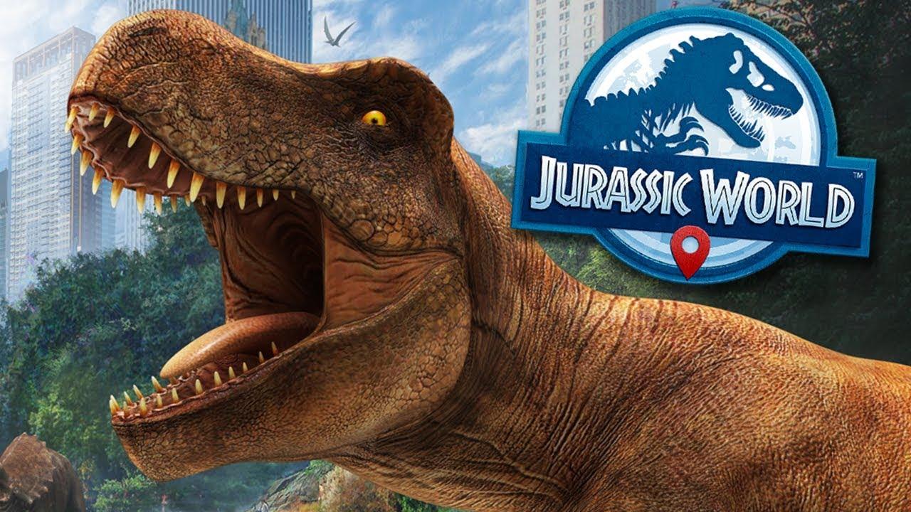 Jurassic World Alive: Pokemon Go With Giant Dinosaurs