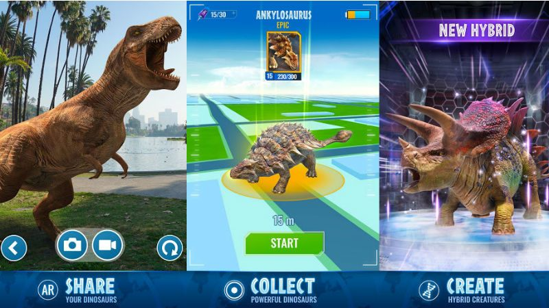 Jurassic World Alive: Beginners Guide and Tips