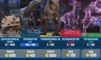 Jurassic World Alive Dinosaurs Ratings and Tiers