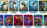 Jurassic World Alive.11 new Dinosaurs