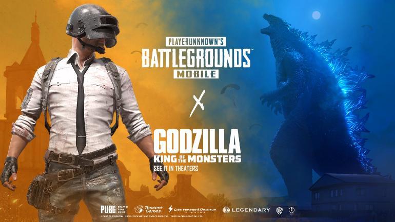 PUBG Mobile: Godzilla themed event