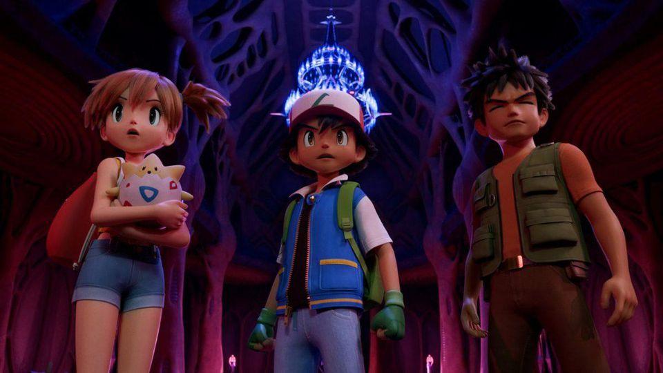 Pokemon Movie Mewtwo Strikes Back Evolution New Trailer Pokemon Group