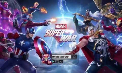 Marvel Super War Heroes List