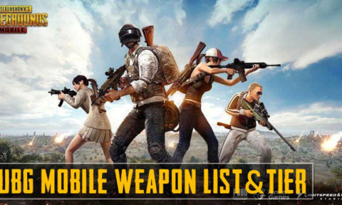 PUBG Mobile: Gun Tier List
